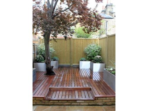 garden Decking by The Natural wood Floor Company