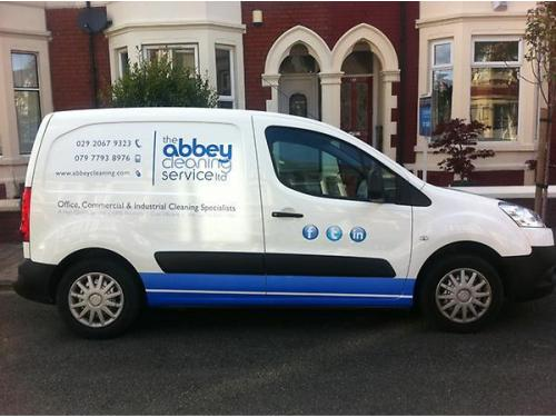Abbey Cleaning van