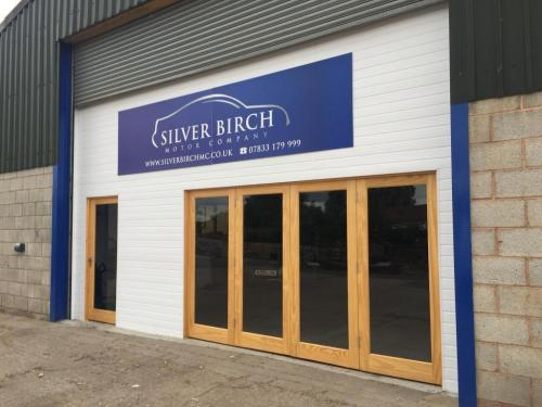Outside of Silver Birch Motor Company