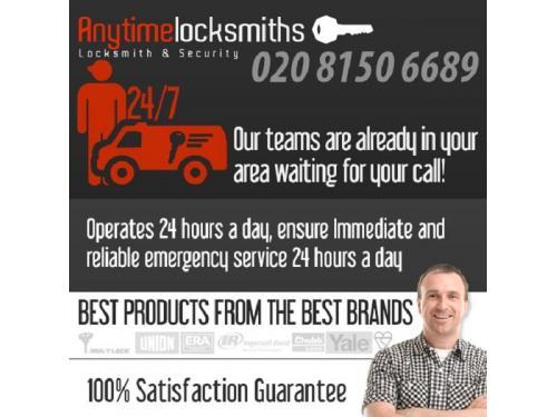 Anytime Locksmiths   020 8150 6689