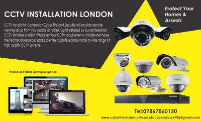 We provide effective security solutions to our clients through professional CCTV Installers London, an excellent maintenance service and a one year on-site warranty with every system installed. We have a team of qualified and experienced engineers to carr