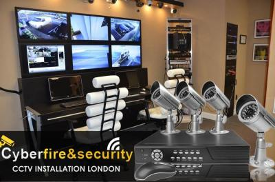Cyber Fire and Security we offer security systems, burglar alarms London, security cameras, ip CCTV and CCTV installation London. Get it installed by our professional team. Whatever your CCTV requirements, CCTV Installers London have the technical resourc