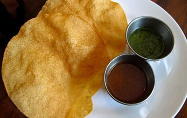 Shad Indian offers free Papadum and Chutney with orders over £12.