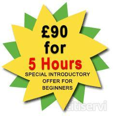 £90 For First 5 Hours