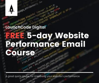 Would you like to improve the performance of your website and bring in more business? Sign up for our free 5-day email course!